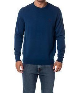 Fred Perry Classic Crew Neck Service Blue