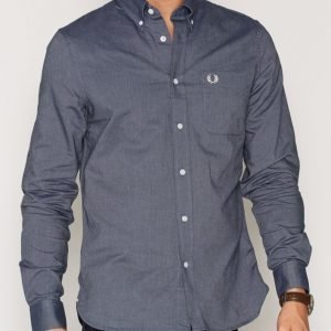 Fred Perry Classic Oxford Shirt Kauluspaita Carbon