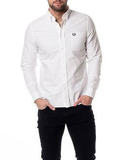 Fred Perry Classic Oxford Shirt White