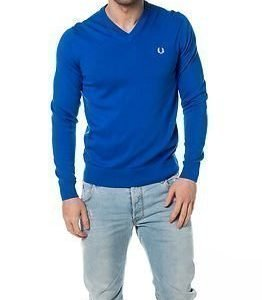 Fred Perry Classic V-Neck Prince Blue