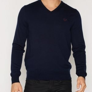 Fred Perry Classic V Neck Pusero Carbon