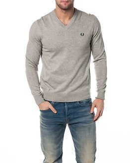 Fred Perry Classic V-Neck Stone Marl