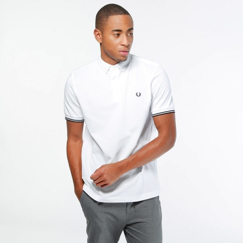 Fred Perry Concealed Placket -pikee