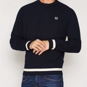 Fred Perry Crew Neck Sweat Pusero Navy