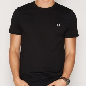 Fred Perry Crew Neck T-shirt T-paita Musta