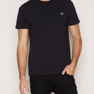 Fred Perry Crew Neck T-shirt T-paita Navy