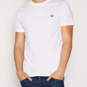 Fred Perry Crew Neck T-shirt T-paita White