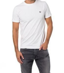 Fred Perry Crew Neck White