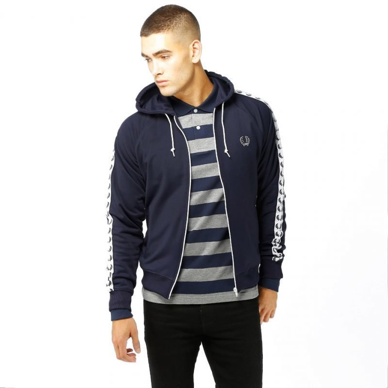Fred Perry Hooded Track -zip huppari