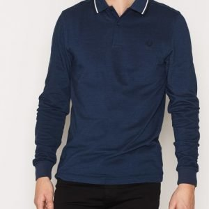 Fred Perry LS Twin Tipped Shirt Pikeepaita Pacific