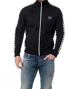 Fred Perry Laurel Track Jacket Black