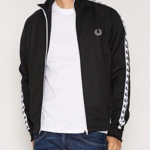 Fred Perry Laurel Track Jacket Pusero Black