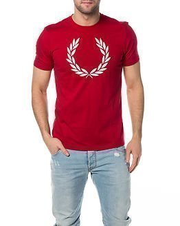 Fred Perry Laurel Wreath T-Shirt Blood