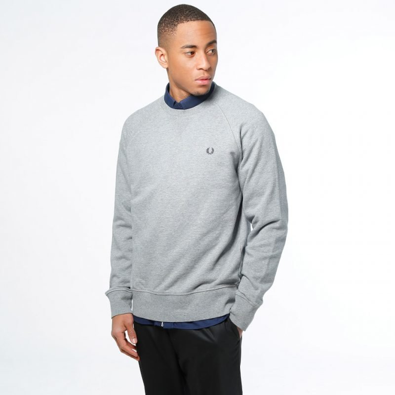 Fred Perry Loopback Crew -college