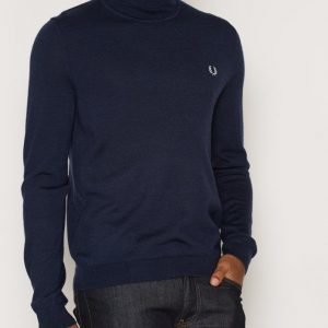 Fred Perry Merino Roll Neck Pusero Carbon Blue