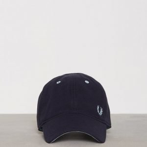 Fred Perry Pique Classic Cap Lippis Navy