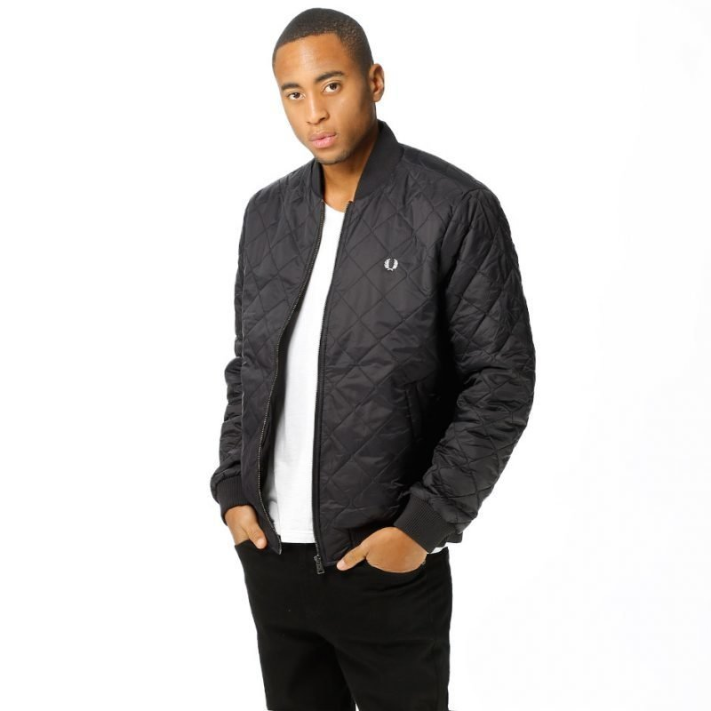Fred Perry Quilted Bomber -takki