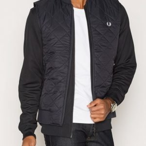 Fred Perry Quilted Gillet Tikkiliivi Navy