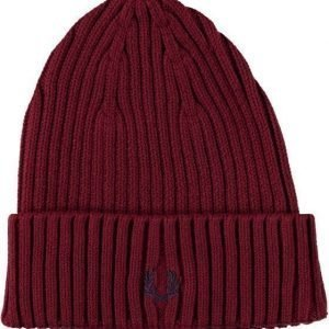 Fred Perry Ribbed Beanie Pipo