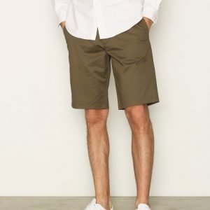 Fred Perry Sharp Twill Short Shortsit Green