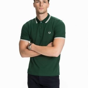 Fred Perry Slim Fit Polo Shirt Pikeepaita Ivy