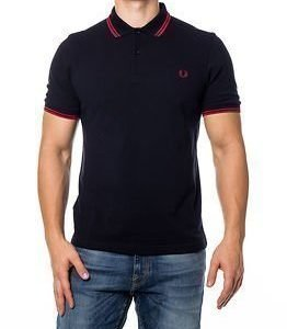 Fred Perry Slim Fit Twin Tipped Navy