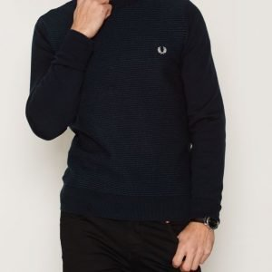 Fred Perry Stripe Crew Neck Pusero Navy