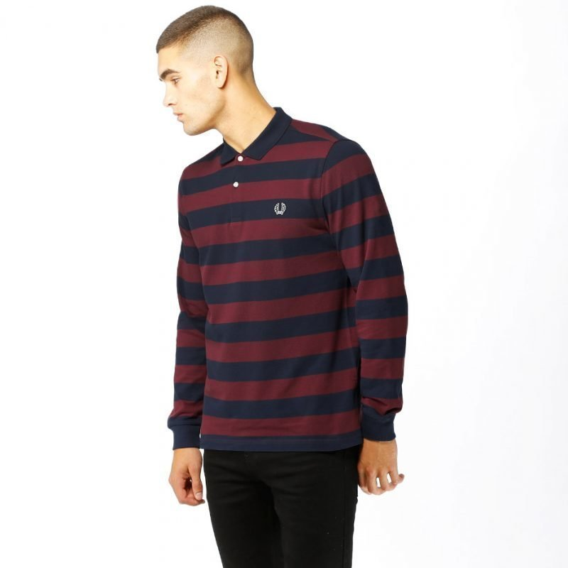 Fred Perry Striped Pique -pikee