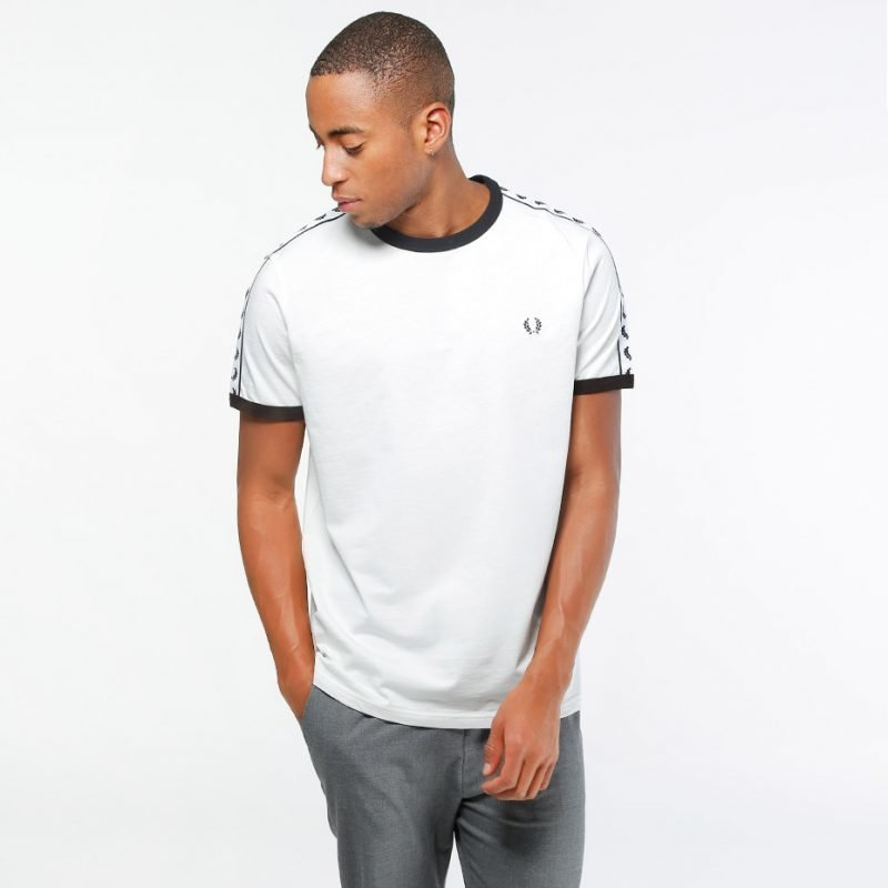 Fred Perry Taped Ringer -t-paita