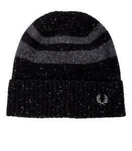 Fred Perry Tipped Beanie Black
