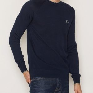 Fred Perry Tipped Crew Neck Pusero Carbon