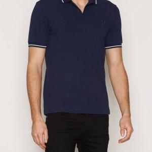 Fred Perry Twin Tipped FP Shirt Pikeepaita Sininen/Valkoinen