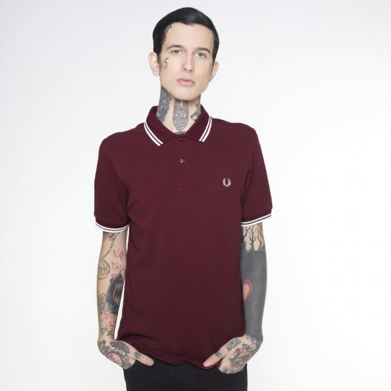 Fred Perry Twin Tipped Slim -pikee