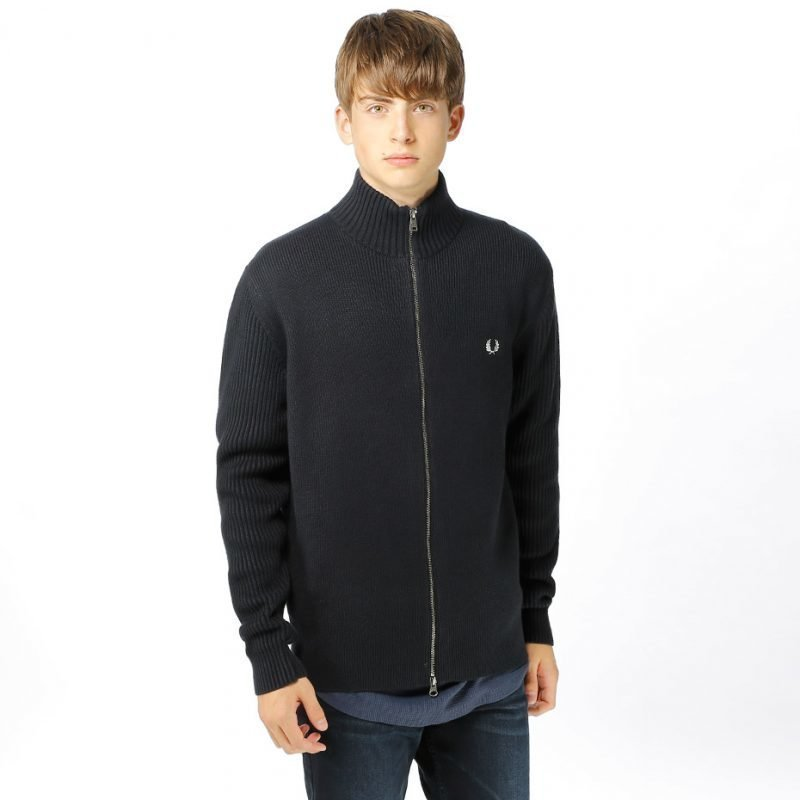Fred Perry Zip Thru -neuletakki