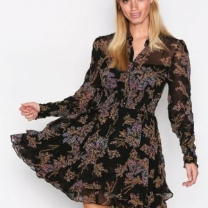 Free People Fake Pretend Mini Mekko Black