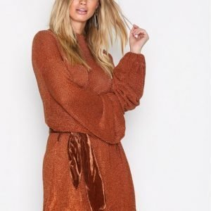 Free People Fete Sweater Dress Pitkähihainen Mekko Terracotta