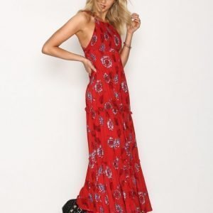 Free People Garden Party Maxi Maksimekko Red