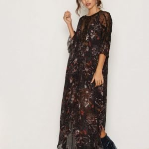 Free People Spirit Of The Wild Maxi Maksimekko Black / Print