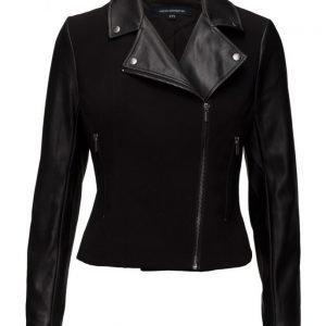 French Connection Alana Mix Ls Biker Jacket nahkatakki