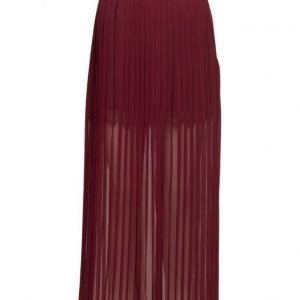 French Connection Cooper Sheer Pleated Maxi Skrt maksihame