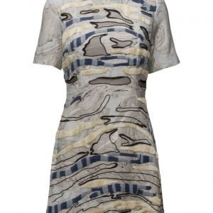 French Connection Derain Stitch Ss Rndk Dress lyhyt mekko