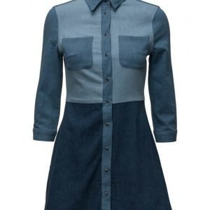 French Connection Edie Denim Shirt Dress lyhyt mekko