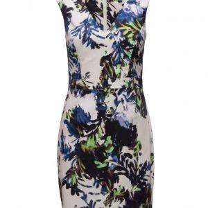 French Connection Kiki Palm Cotton Ss Vnk Dress lyhyt mekko