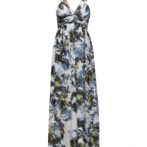 French Connection Kiki Palm Sheer Maxi Dress maksimekko