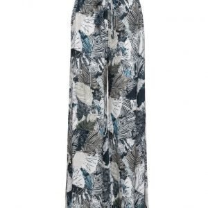French Connection Lalapalm Drape Flared Trouser leveälahkeiset housut