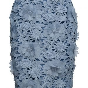 French Connection Manzoni 3d Floral Lace Pencil Skirt kynähame