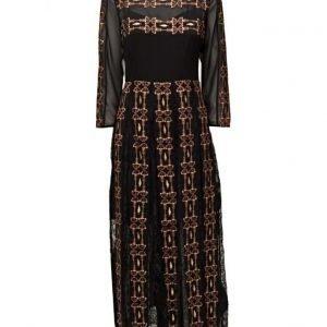 French Connection Prila Drape Ls Rdnk Maxi Dress maksimekko