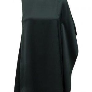 French Connection Sasha Satin S/Lss Fluted Dress lyhyt mekko