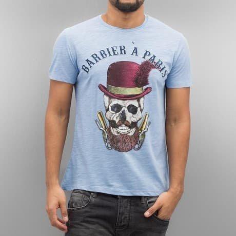 French Kick T-paita Sininen