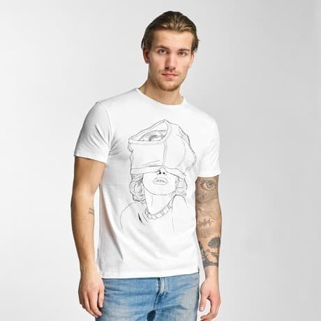French Kick T-paita Valkoinen